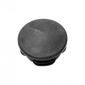 Заглушка 22 мм., осн. Ø32 мм., ПНД черная