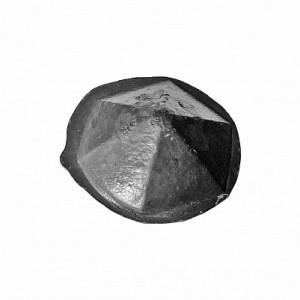 Заклепка шестигранник Ø25 мм., ≠8.5 мм., малая, кованая