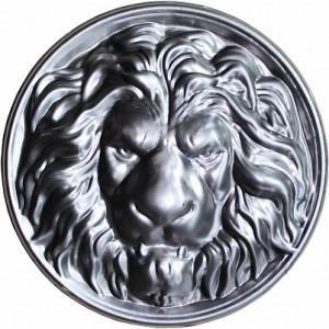 Голова льва Ø250*0,8 мм., штамп.