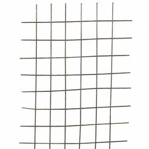 Сетка в картах яч. 100х100х3мм, 1х2м, неоцинкованная