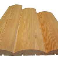 Блок-хаус сосна категория AB блок-хаус производства Тахис 20х96х3000 мм